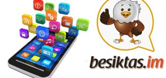 Beşiktaşlılara Özel Mesajlaşma Uygulaması yayında!