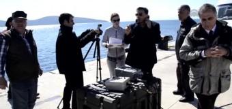 Sualtı elektronik haberleşme sistemi test edildi