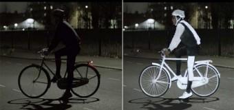 Bisikletçilere müjde: 'Gece görüşü spreyi'