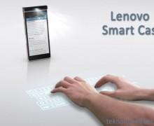 Lenovo'dan projektörlü telefon: Smart Cast