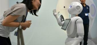 'İnsan gibi tepki veren' robot piyasada