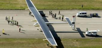 Güneş enerjili uçak rekor için havalandı!