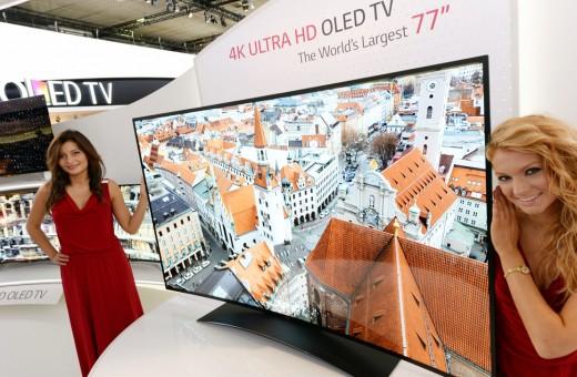 LG, dünyanın ilk HDR teknolojili 4K OLED TV'lerini tanıttı