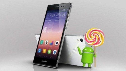 Huawei Ascend P7 için Android 5.1.1 Lollipop geldi!