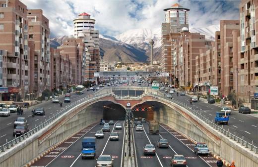 tahran-sokaklari