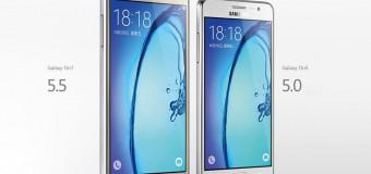 Samsung Galaxy On5 ve Galaxy On7 tanıtıldı