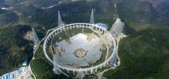 Çin'den 30 futbol sahası büyüklüğünde teleskop!
