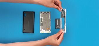 Kullanıcıların tamir edebileceği yeni modüler telefon