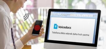 Sesi yazıya çevirme programı 'Voicedocs'