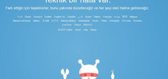 Twitter Avrupa'da çöktü