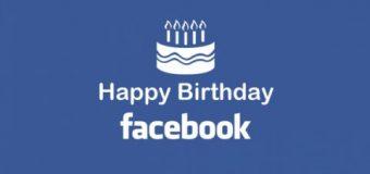 Facebook 12 yıldır hayatımızda!
