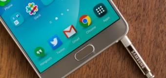 Galaxy Note 5 için beklenen güncelleme geliyor!
