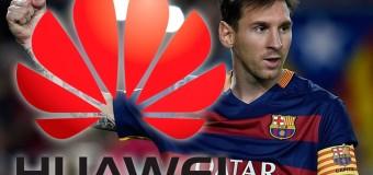 Lionel Messi'nin tercihi 'Huawei'