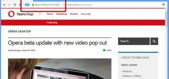Opera'dan ücretsiz VPN hizmeti