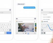 Google'ın yeni iOS klavyesi yayında
