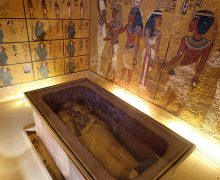Firavunun hançeri uzaydan gelmiş!