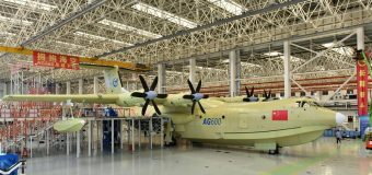 En büyük deniz uçağı Çin'den