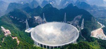 Çin'deki dev teleskop'ta testlere başlandı!