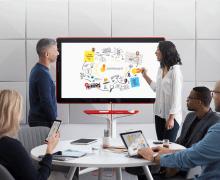 Google'dan 55 inç 4k Dokunmatik Ekranlı Beyaz Tahta