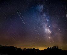 Fotoğrafçılara müjde Meteor yağmuru Ekim'de de geliyor