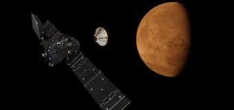 Schiaparelli uzay aracı Mars'a indi