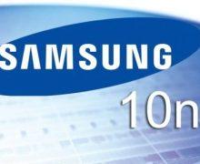 Samsung'dan dünyanın ilk 10 nanometrelik mobil işlemcisi