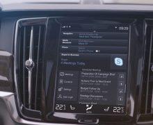 Volvo, Skype desteği sunan ilk otomobil üreticisi!