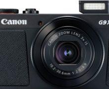 Canon'dan yeni aynasız fotoğraf makinesi: PowerShot G9 X Mark II