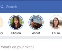 Facebook'a hikayeler özelliği geldi