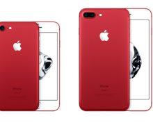 Kırmızı İphone 7 ve İphone 7 Plus Satışta