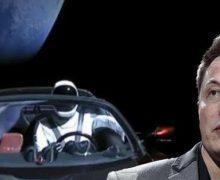 Uzaya gönderilen araba 1 yılda paramparça olabilir!