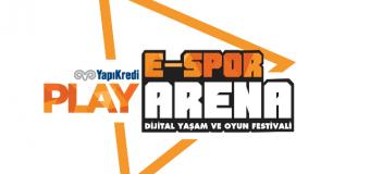 Türkiye'nin Beklediği E-spor Oyun Festivali Başlıyor