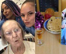 """100 yaşındaki kadından yaşam tüyoları """"Bira ve kremalı bisküvi"""""""