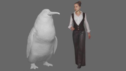 İnsan boyunda penguenlerin fosilleri bulundu