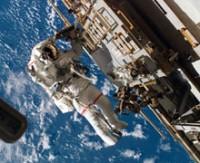 Astronot uzay hastası oldu