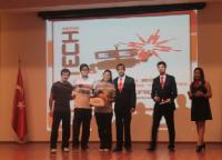 Sumo robot 3.lük ödülü