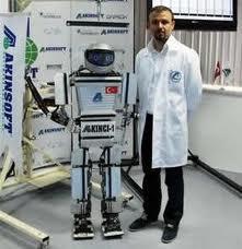 Yerli insansı robot tanıtıldı