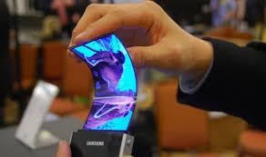 Note 3'e büküleblir AMOLED ekran