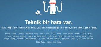 Twitter'da teknik sorun!