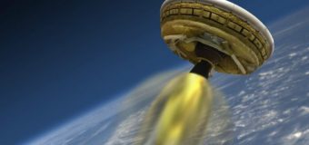 Nasa'dan Mars'a yolculuk için 'uçan daire' deneyi