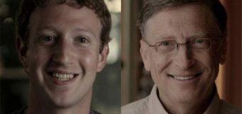 Zuckerberg, Bill Gates'e meydan okudu