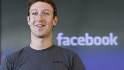 Mark Zuckerberg Google kurucularını geride bıraktı