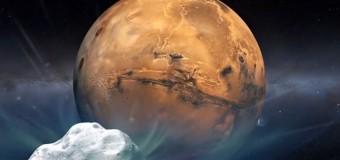 Kuyruklu yıldız, Mars'a teğet geçecek