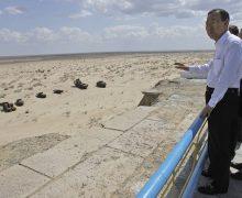 Aral Gölü çöl oldu