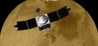 Maven, Mars'tan ilk görüntüleri gönderdi