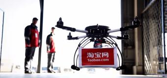 Alibaba helikopterle teslimata başladı.
