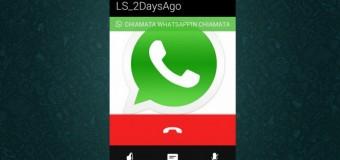 Whatsapp'a Sesli Arama Özelliği geldi!