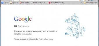 Bazı ülkelerde Google ve Gmail çöktü