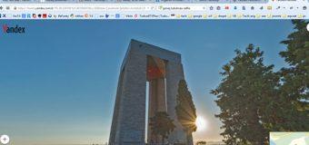 Çanakkale'yi Yandex Panorama ile gezin