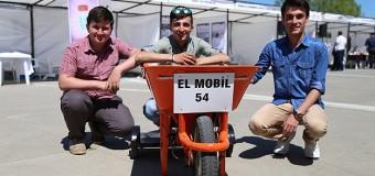 Liseli mucitlerden motorlu 'el arabası'